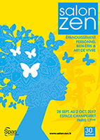visuel affiche salon zen paris