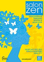 visuel affiche salon zen paris