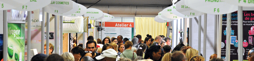 Visuel liste des Exposants - Salon ZEN Paris