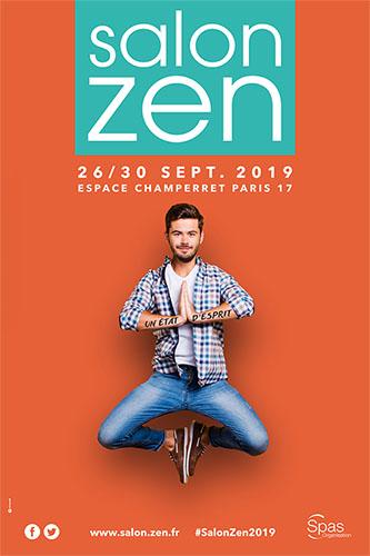 Affiche salon Zen 2019