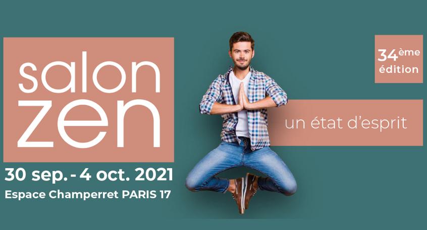visuel dates logo salon ZEN 2021