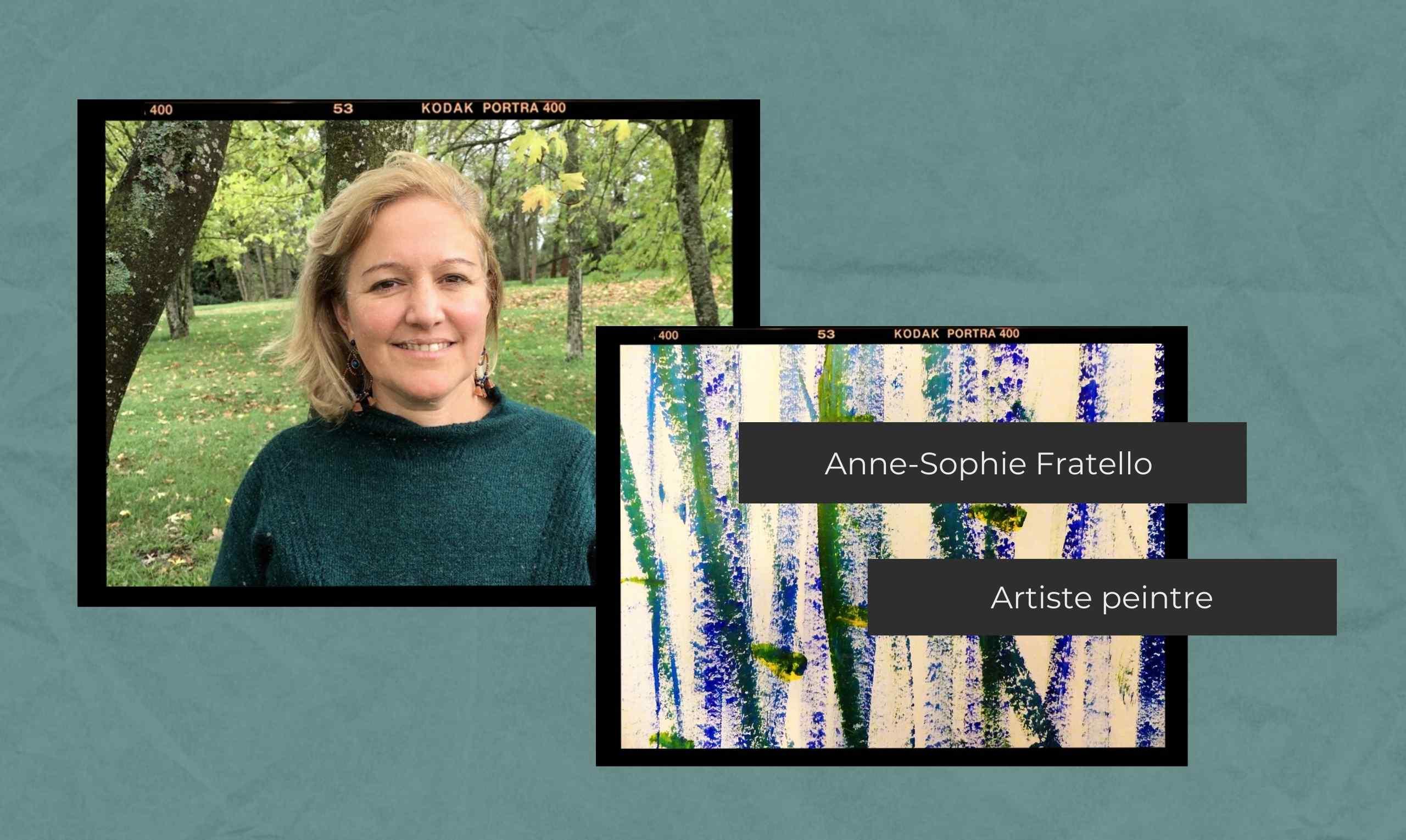 Portrait d'exposant Salon Zen 2021 - Anne-Sophie Fratello, artiste peintre